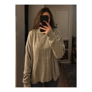 Super soft over sized sweater